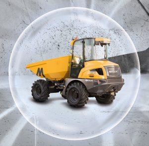 Mecalac reveals technical specification for MDX site dumper range