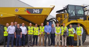 CATERPILLAR DELIVERS 50,000TH CAT® ARTICULATED TRUCK