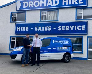 New Service Vans Arriving at the Companies Head Office in Dundalk 7-9-18